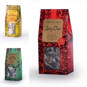 GIFT SET 7 - YOUR CHOICE OF ANY 3 X 20 SILKEN PYRAMID TEABAGS