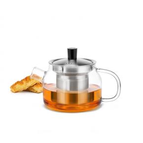 Samadoyo Borosilicate Glass Contemporary Design Infusion TeaPot S'048A 470ml